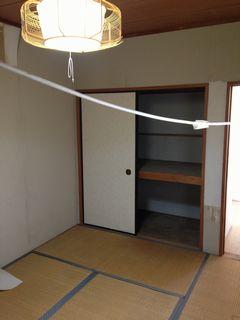 施工例和室施工前