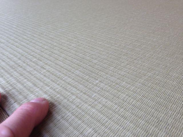 琉球畳ヘリなし和紙表施工例