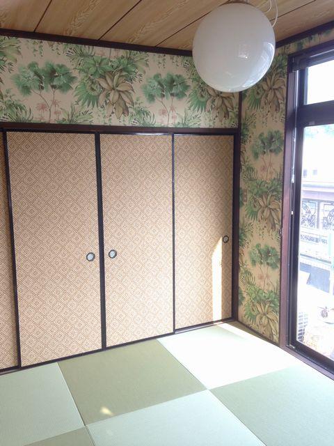 琉球畳アジアン施工例