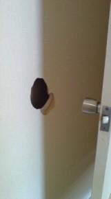 壁穴の石膏ボード補修方法