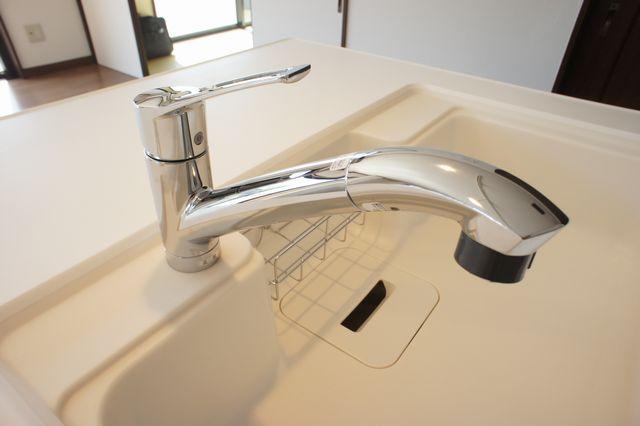 シャワーホース付水栓