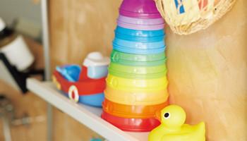 おもちゃも収納できます